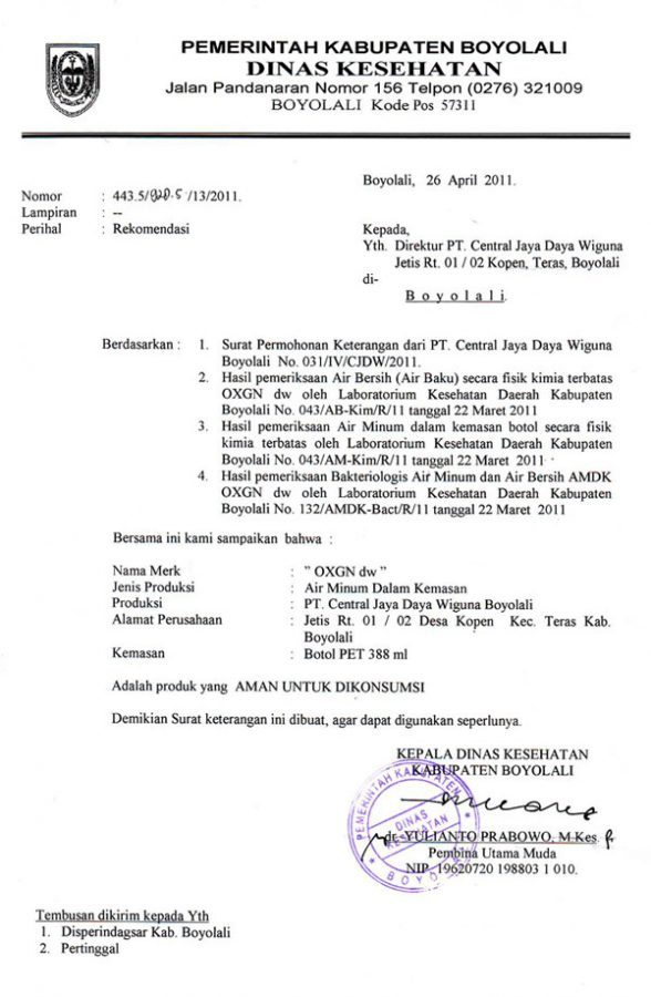 15 contoh surat dinas resmi pemerintahan kesehatan sekolah perusahaan balubu