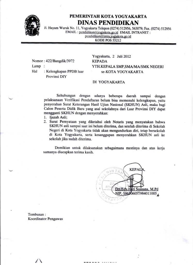 15+ Contoh Surat Dinas Resmi Pemerintahan | Kesehatan ...