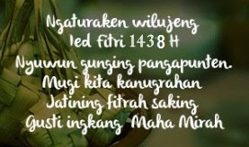 ucapan idul fitri dalam bahasa sunda
