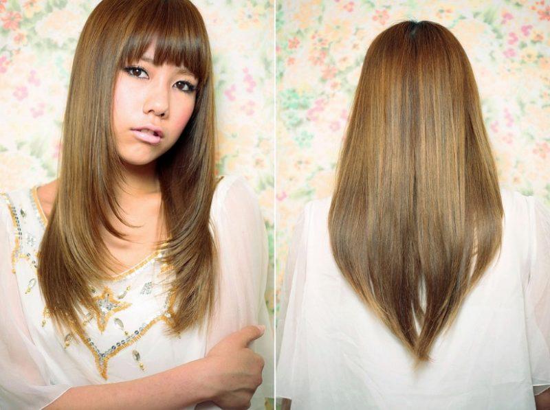 Model Rambut Sebahu layer